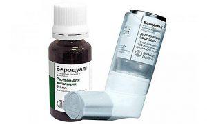 Беродуал - симптомы передозировки