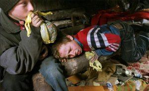 Малолетние токсикоманы