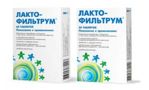 Лактофильтрум при отравлении