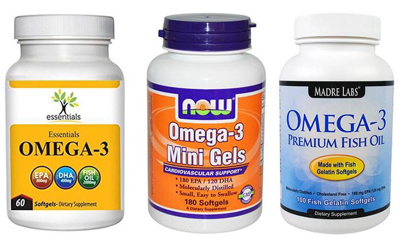 Омега-3 от холестерина