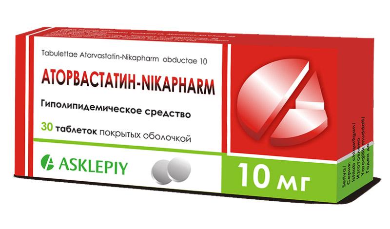 Статины для снижения холестерина