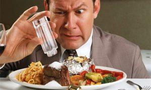 Избыток соли в организме